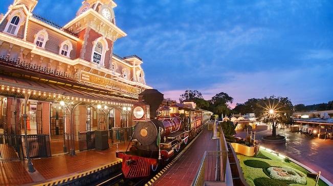 Disney World Trains
