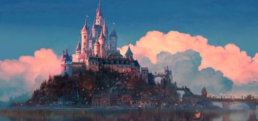 Disney movie castles