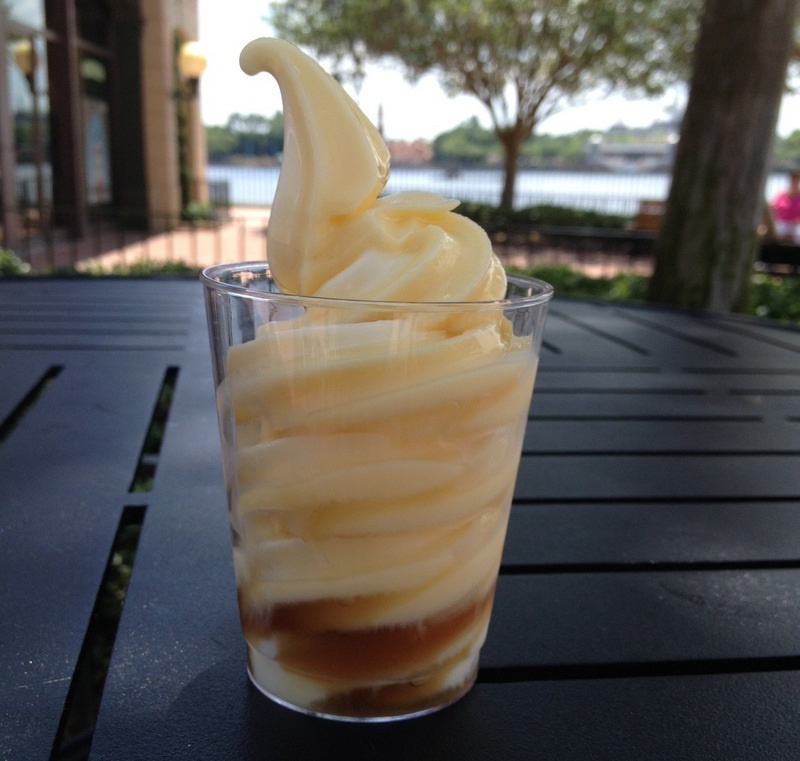 Dole Whip with rum