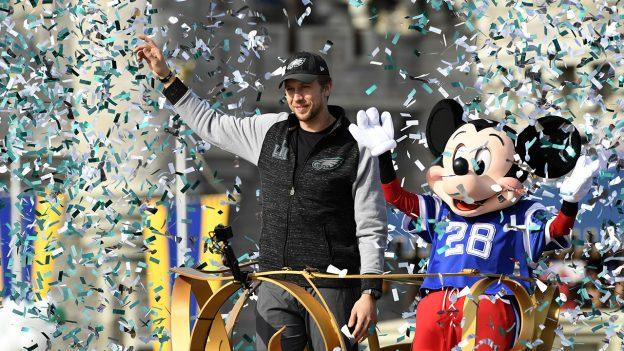 Nick Foles Disney parade