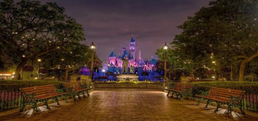 Quiet places Magic Kingdom