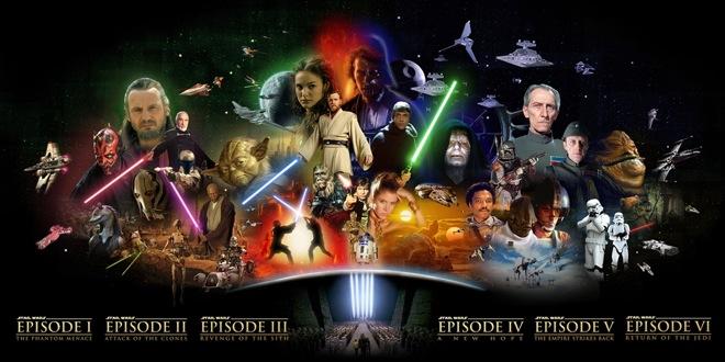 Star Wars pre Disney