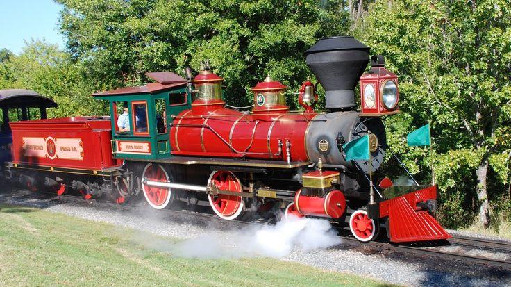 Trains at Walt Disney World