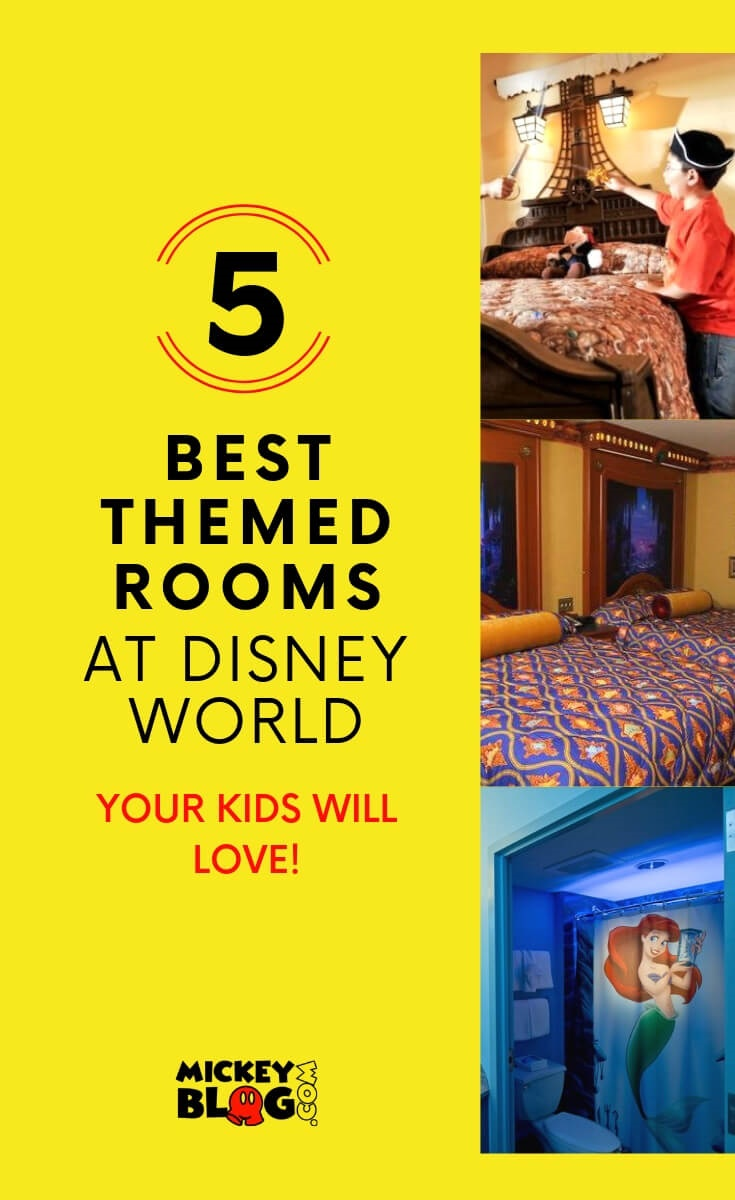 The best themed rooms at Walt Disney World