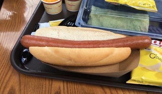 Casey's Corner hot dog