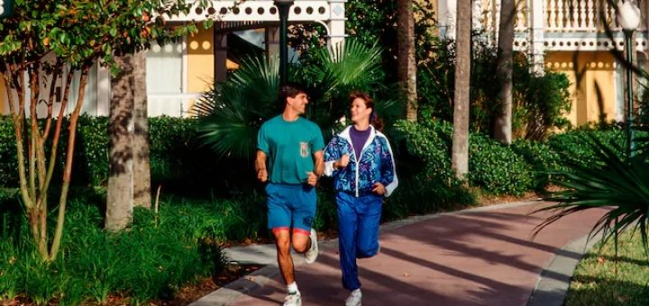 Walt Disney World Jogging