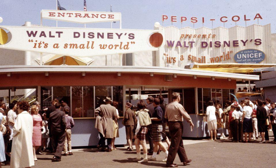 Disney World's Fair, a small world
