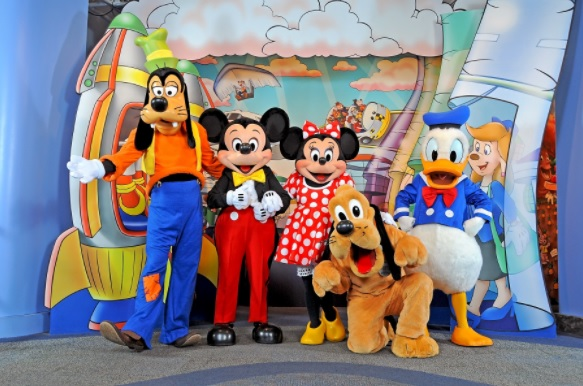 Disney character meet & greet