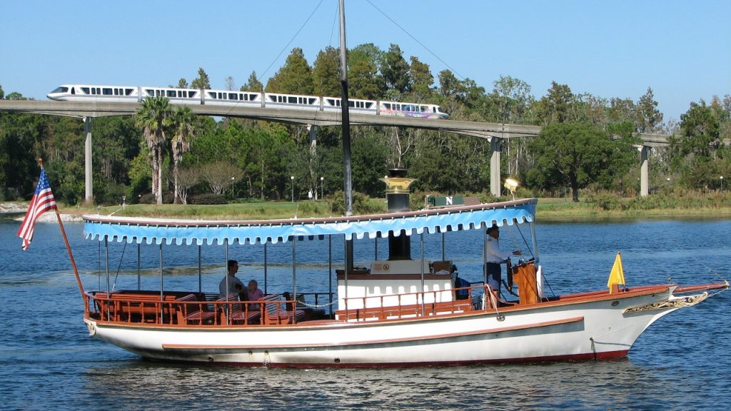Grand Floridian Ferry boat