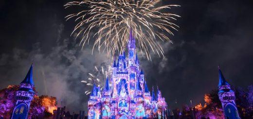 Florida theme park fireworks