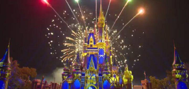 Happily Ever Fireworks Magic Kingdom