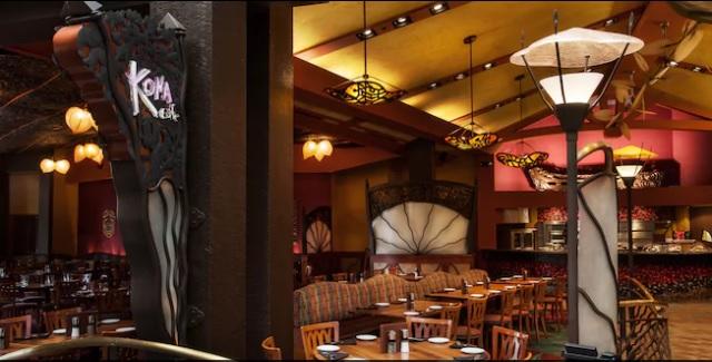 Kona Cafe Disney