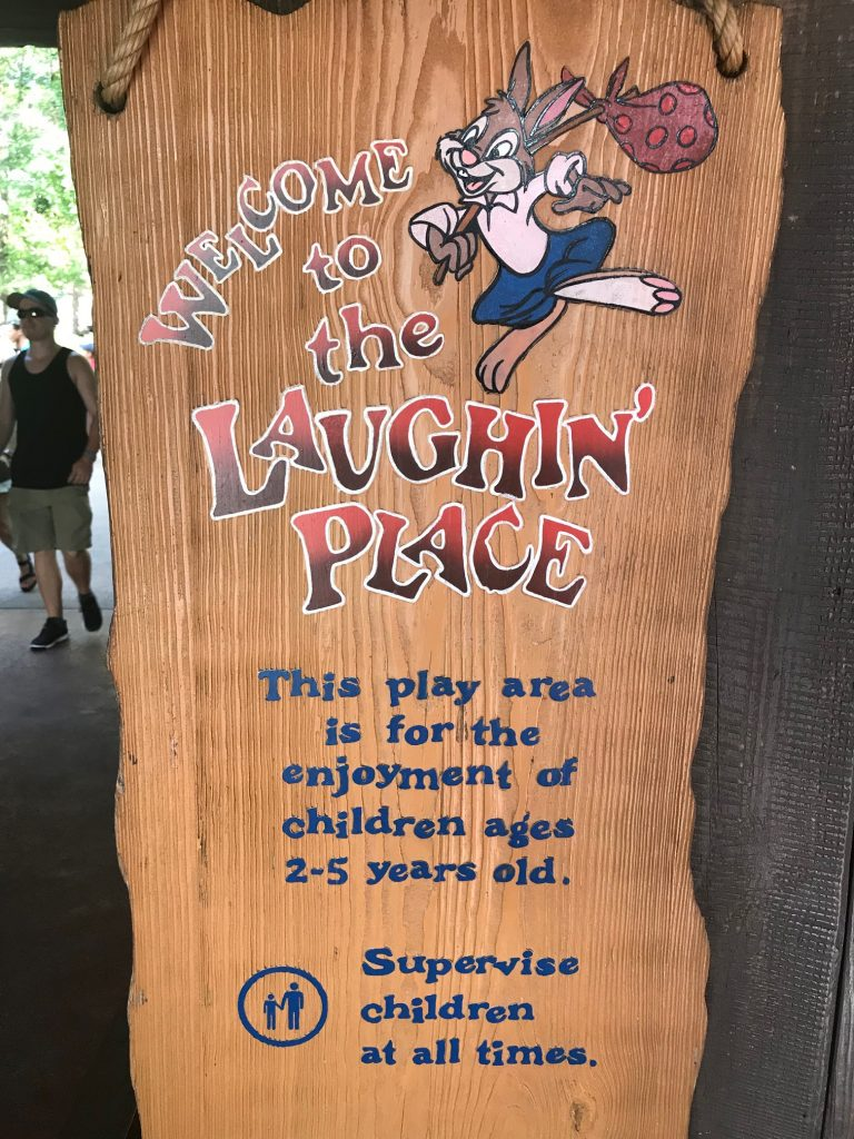Laughin Place sign