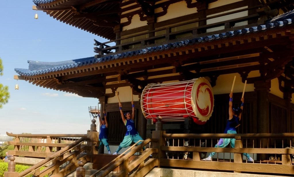Japanese Drums at Epcot