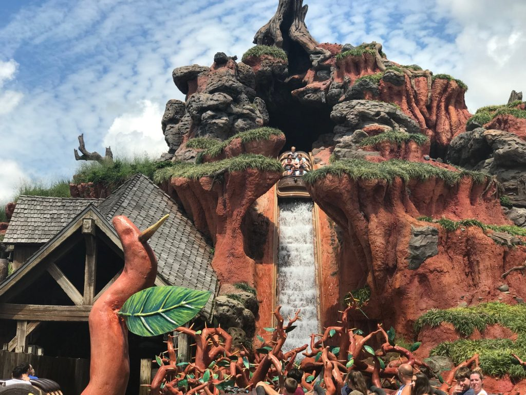 Splash Mountain drop