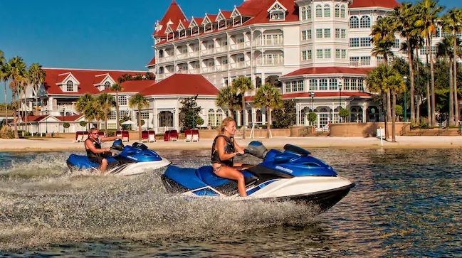 boat rentals at Disney's Contemporary Resort