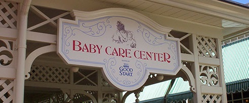 Baby centers at Disney