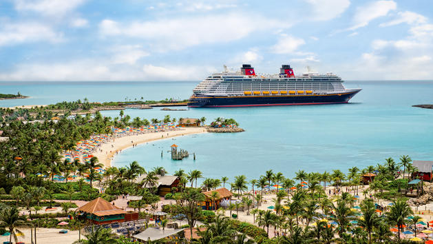 Disney test cruise