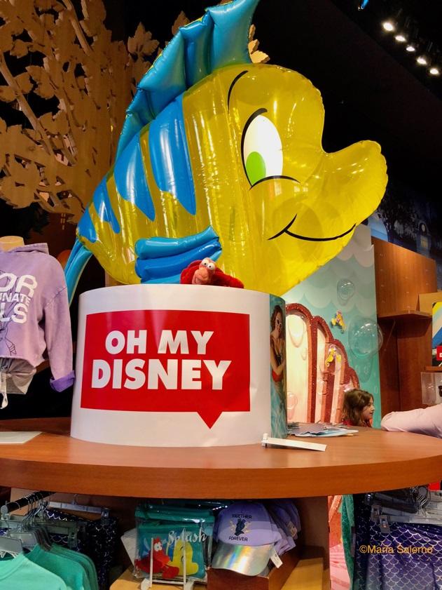 Disney Flounder float