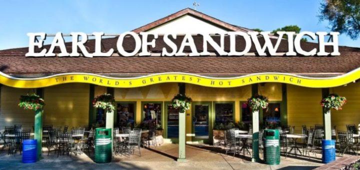 Disney Springs' Earl of Sandwich