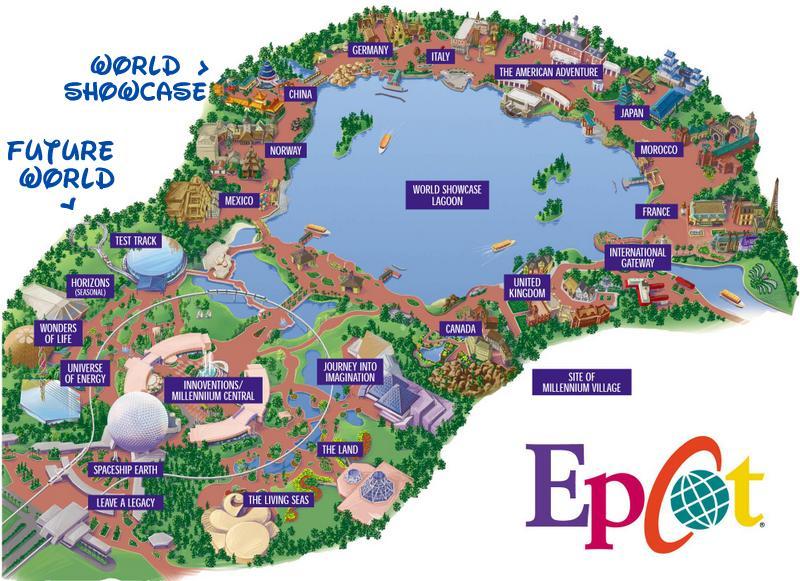 Epcot World Showcase