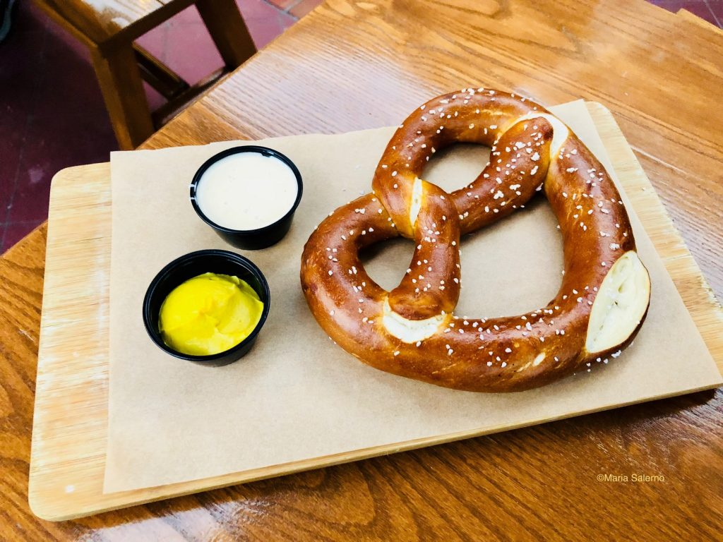 Disney German Pretzel