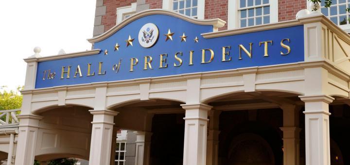 Hall of Presidents Biden