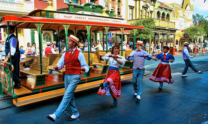 Main Street Trolley Show
