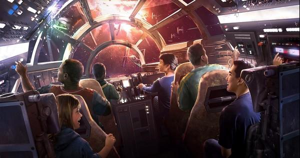 Millennium Falcon Ride
