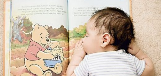 baby sleeping Disney