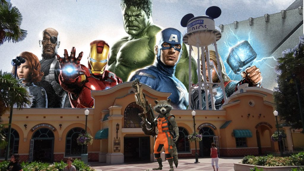 Avengers Disneyland Paris