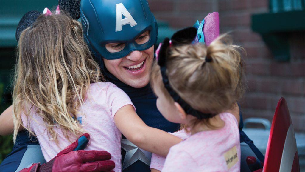Captain America Disneyland Paris