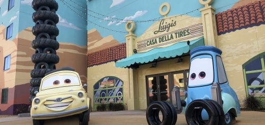 Pixar at Disney World