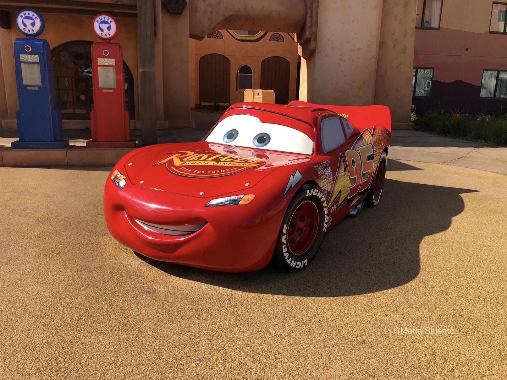 Cars at Disney