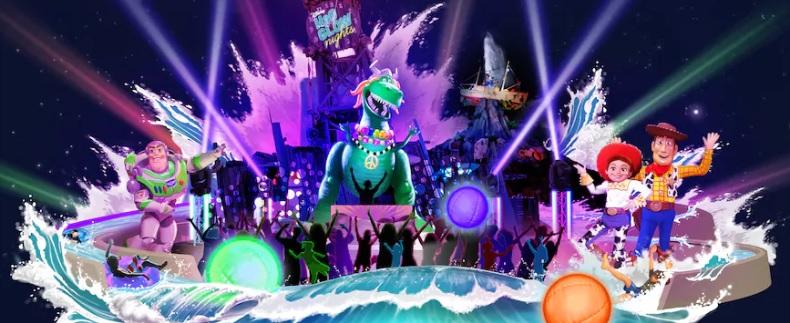 Disney H20 Glow Night