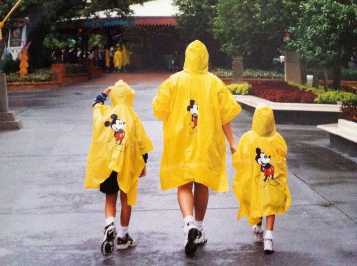 Disney Rain Poncho