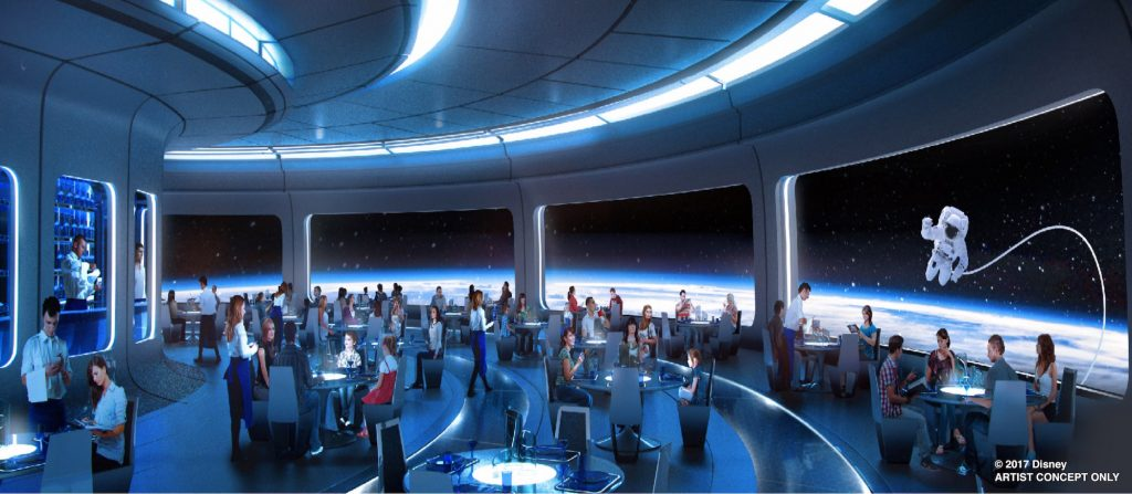 Disney Space Restaurant