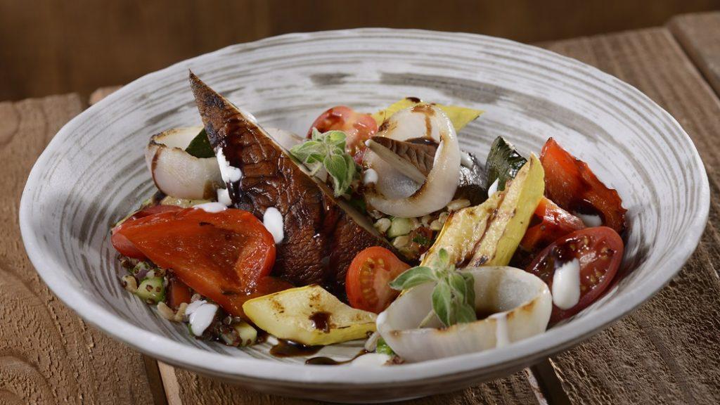 Grilled Portabello Salad at Geyser Point