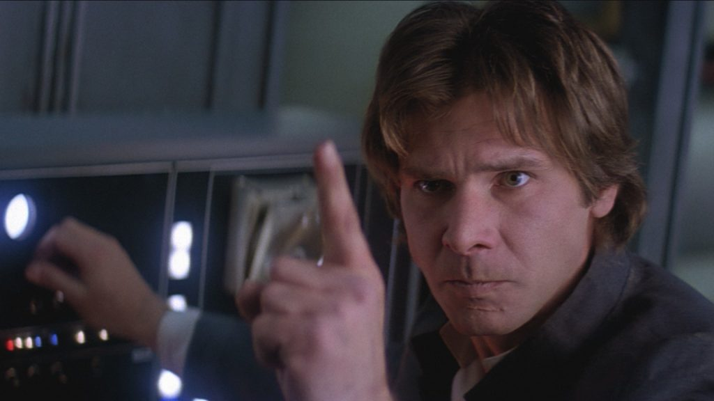 The Empire Strikes Back, Han Solo, Harrison Ford