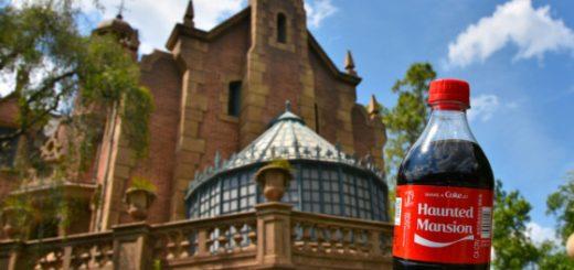 Haunted Mansion Coke