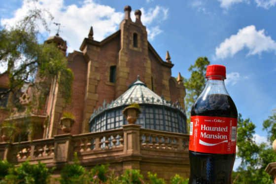 Haunted Mansion Coke