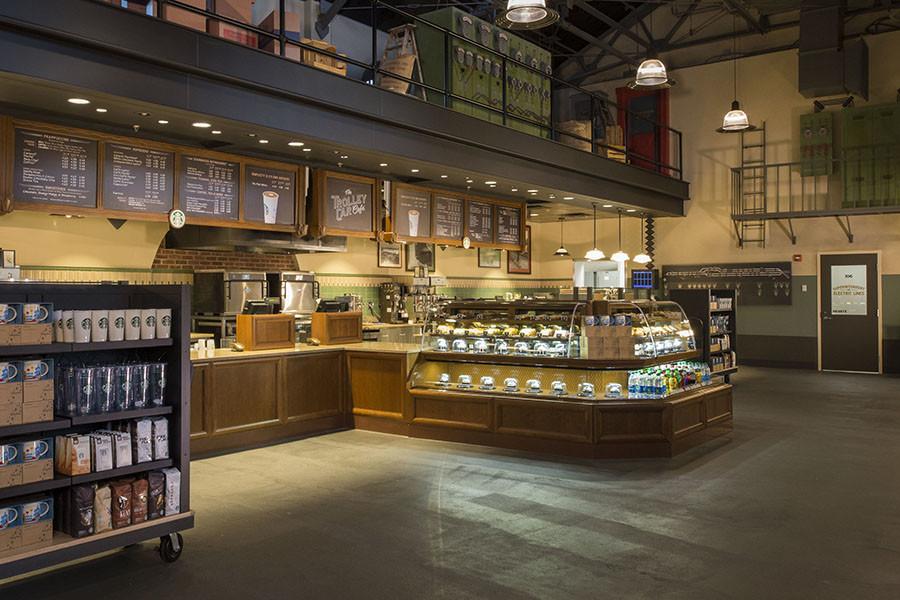 Hollywood Studios Starbucks