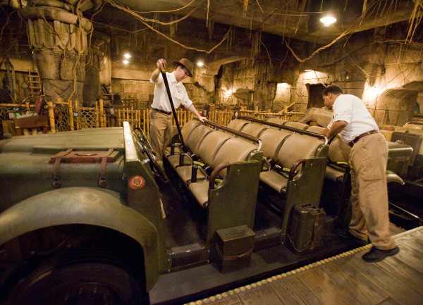 Indiana Jones Ride Vehicle