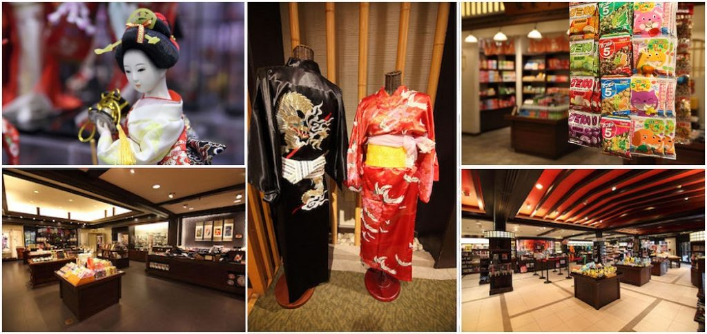 Japanese store in Epcot