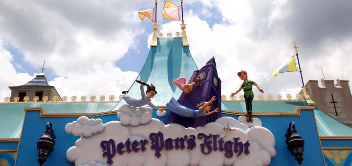 Peter Pan's Flight Sign