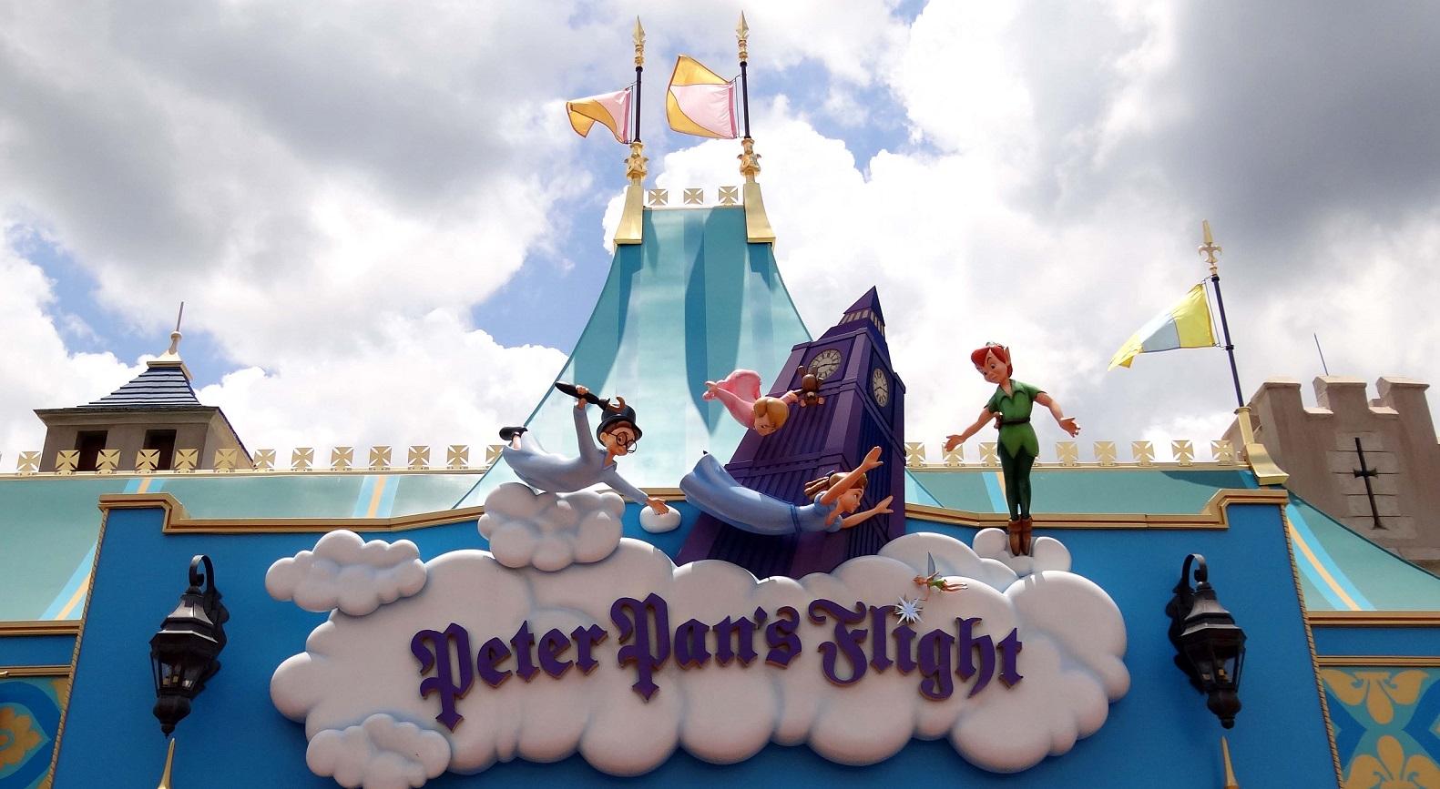 Peter Pan's Flight Sign