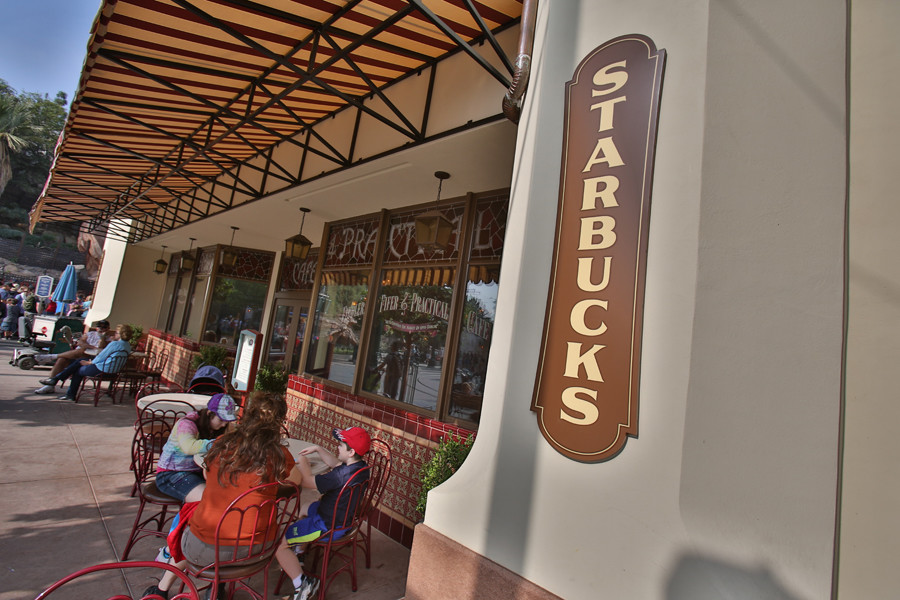 Starbucks Magic Kingdom