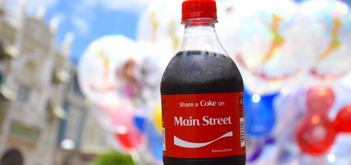 Coke at Disney
