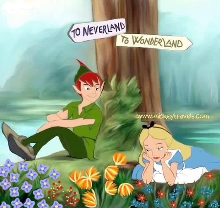 Neverland or Wonderland