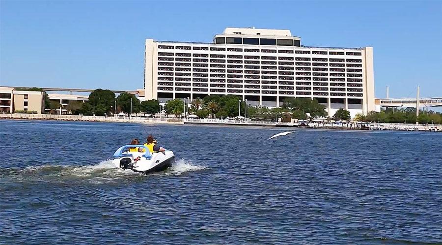 Boats at Disney